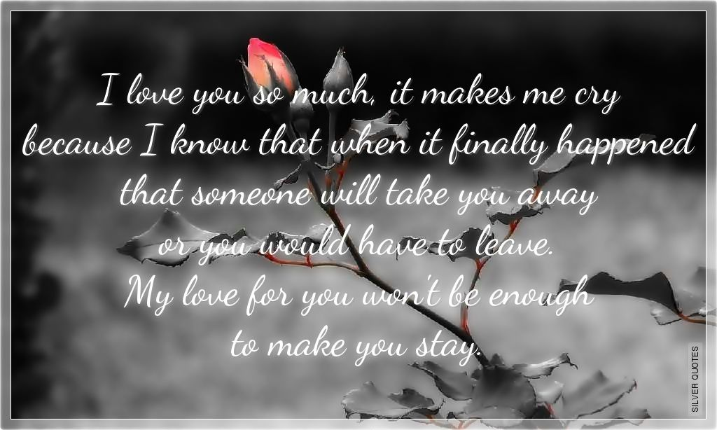 Sad Love Quotes For Him That Make You Cry Tagalog