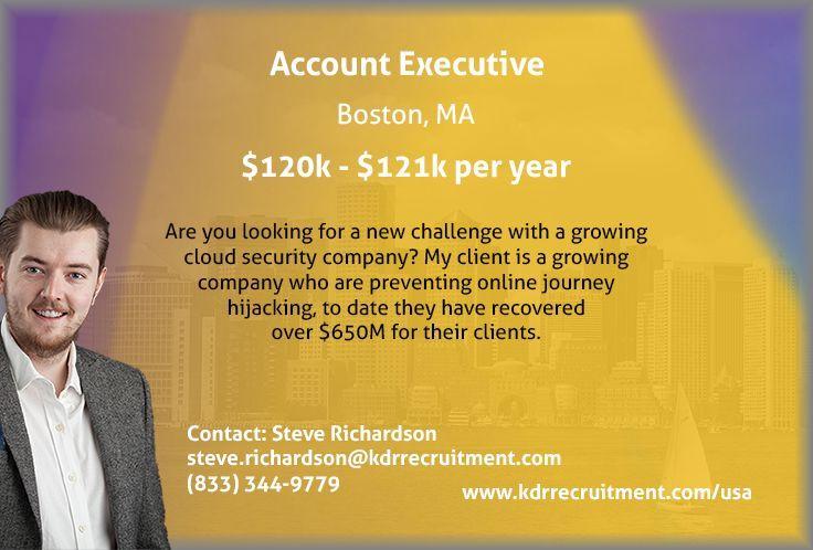 Account executive kdr recruitment account executive