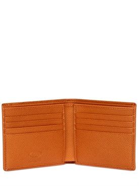 da20885c4f4 tod's - men - wallets - stitched embossed leather classic wallet ...