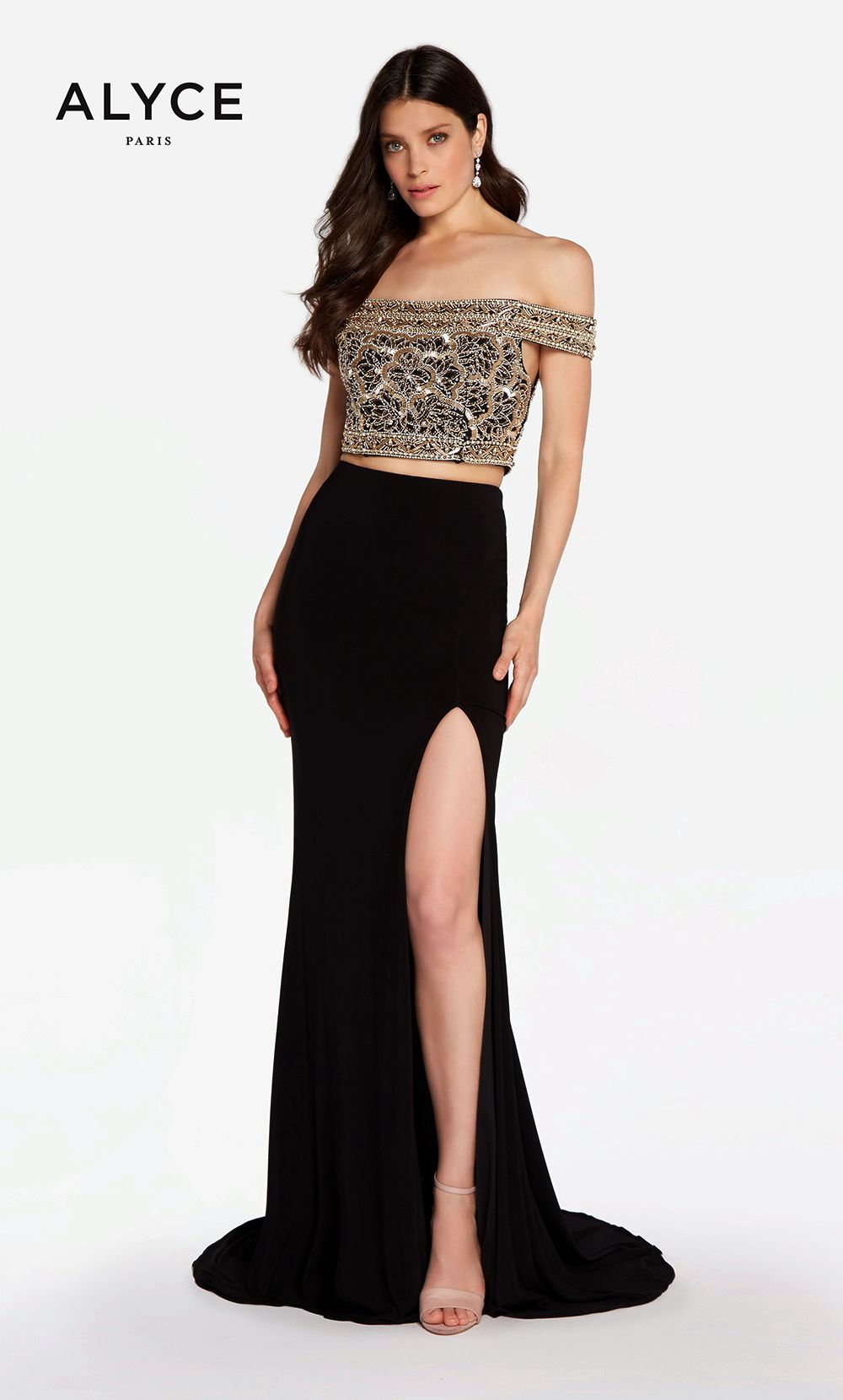 Prom dresses evening dresses by alyce parisucbrueaayucbruelong two