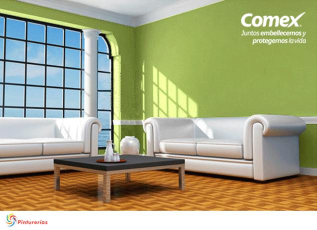 Dale protagonismo a tu sala con los colores de la for Color bambu pintura