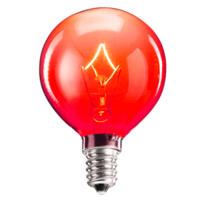 25 Watt Red Scentsy Light Bulb Light Bulb Bulb Red Light Bulbs