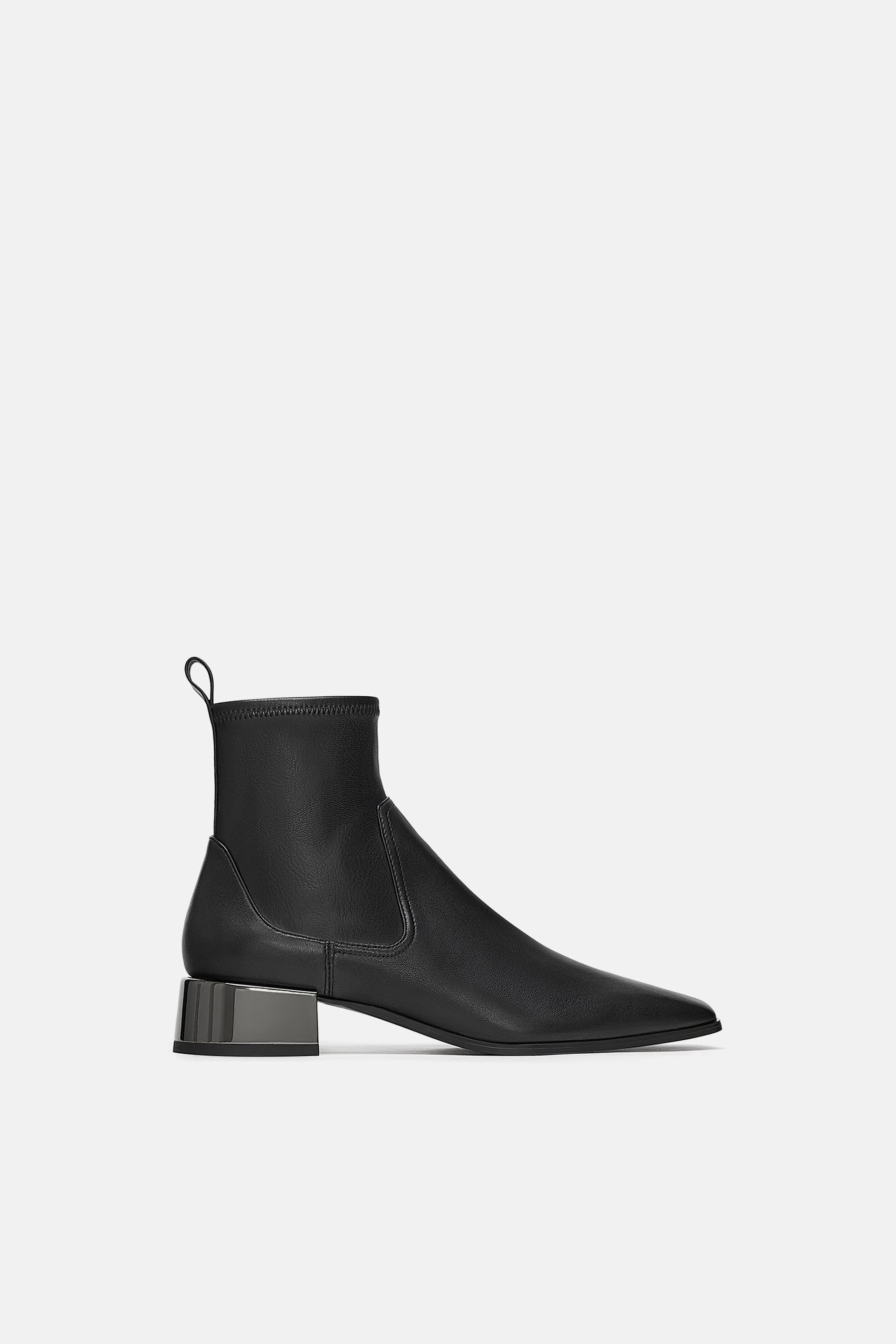 low heeled square toe leather ankle boots shoes in 2019  damen stiefel flache stiefel c 16_18 #8
