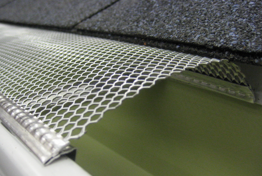 Aluminum mesh gutter protection the curved surface helps to prevent aluminum mesh gutter protection the curved surface helps to prevent debris from collecting on top of the mesh solutioingenieria Images