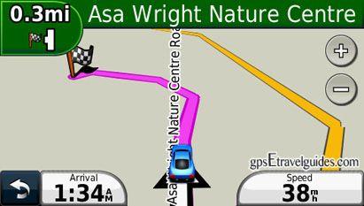 Trinidad Tobago GPS Map for Garmin Asa Wright Nature Center