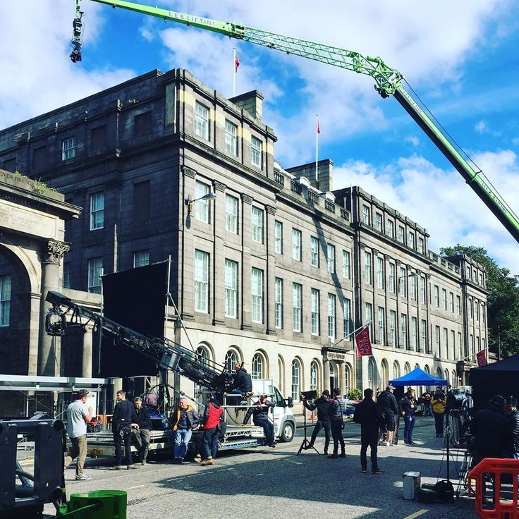 @fastandfuriousmovie Fast and furious 9 being shot in Edinburgh. Traffic has been a standstill, not very fast 😂 #edinbu...