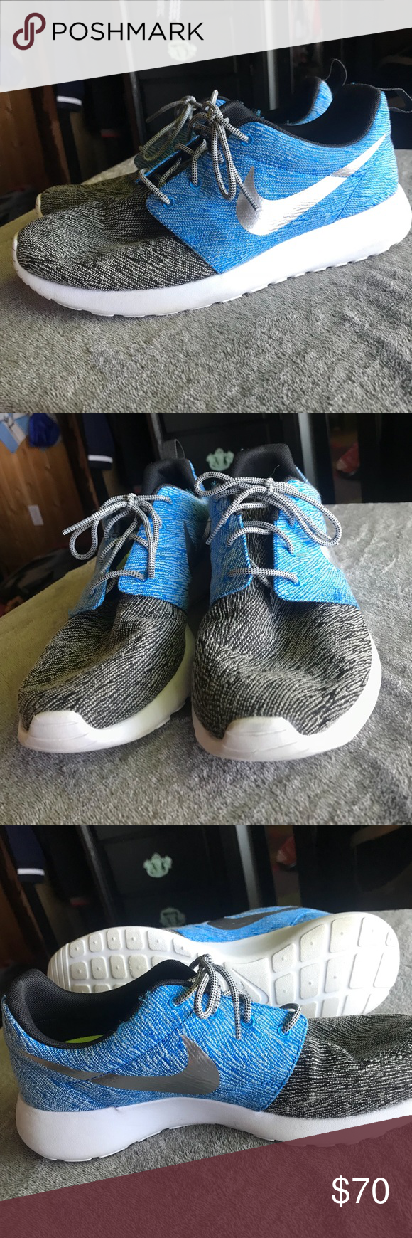 a1397060073a Custom Nikes Customized Nike performance shoe Can t return because it was  customized Worn once
