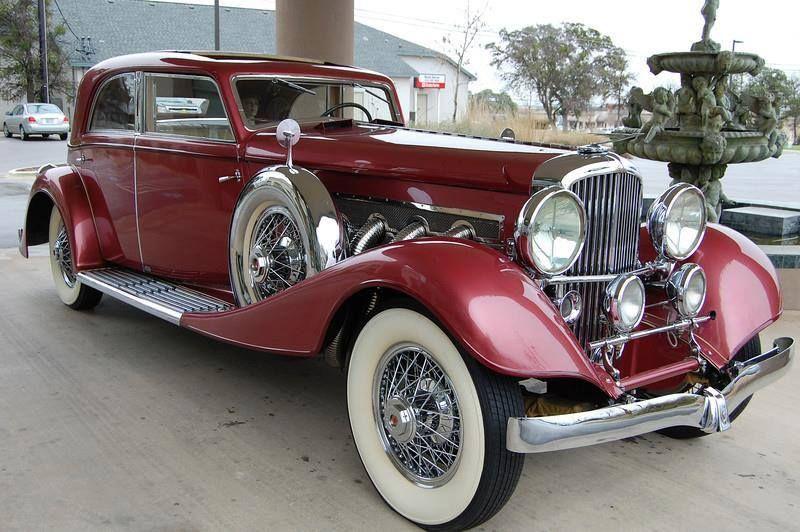 1933 Duesenberg Model J Berline Queen Of Diamonds Vintage Cars