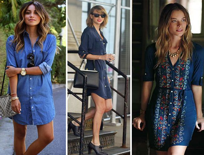 Awesome Outfit Ideas For Summer - Shirtdresses