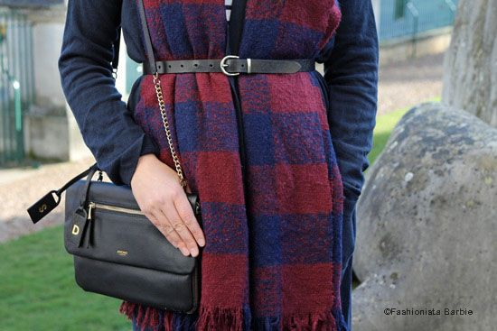 Styling A Blanket Scarf & Long Cardigan