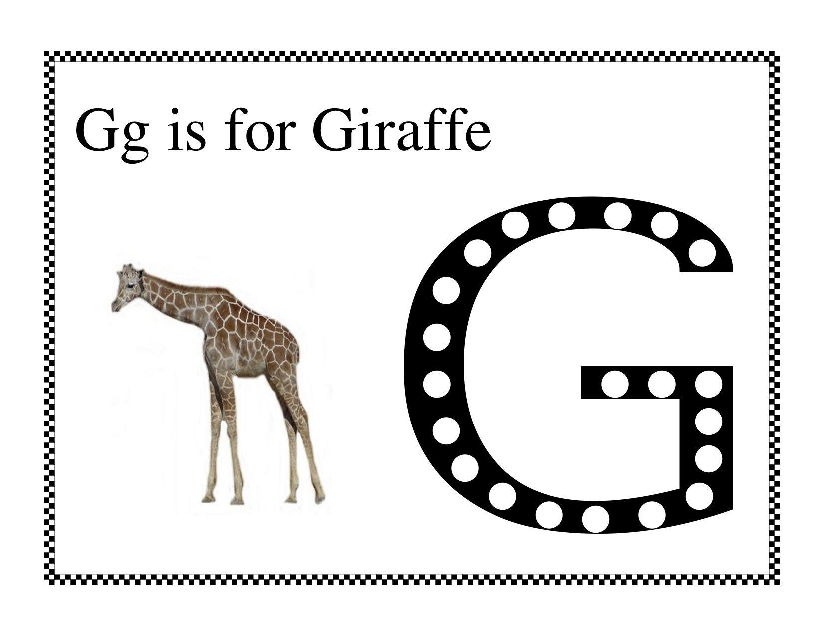 Giraffe Do A Dot Giraffe Do A Dot Language Activities [ 1275 x 1651 Pixel ]