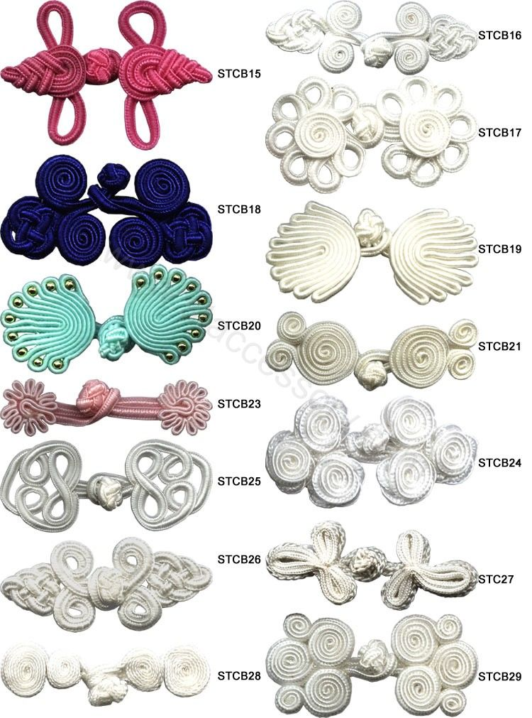 Chinese Buttons   couture   Pinterest   Nudo, Botones y Costura