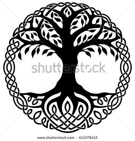 vector ornament decorative celtic tree of life celtics. Black Bedroom Furniture Sets. Home Design Ideas