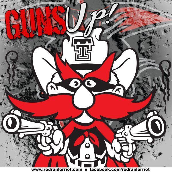 Guns Up Texas Tech Raiders Texas Tech Logo Texas Tech Red Raiders