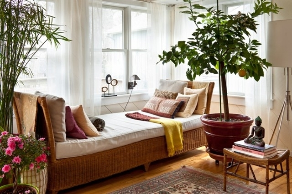 Guest Post Creating A Yoga Space In Your Bedroom Yoga Space Zen Bedroom Apartment Inspiration
