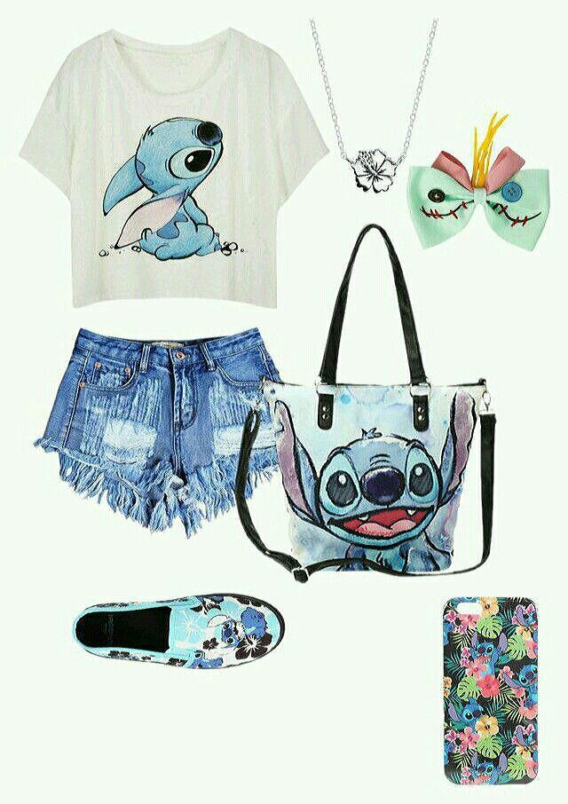 Disney outfit #stitchdisney