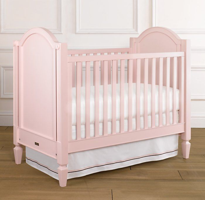 Asher Pink Crib from Restoration Hardware Baby & Child...no ...