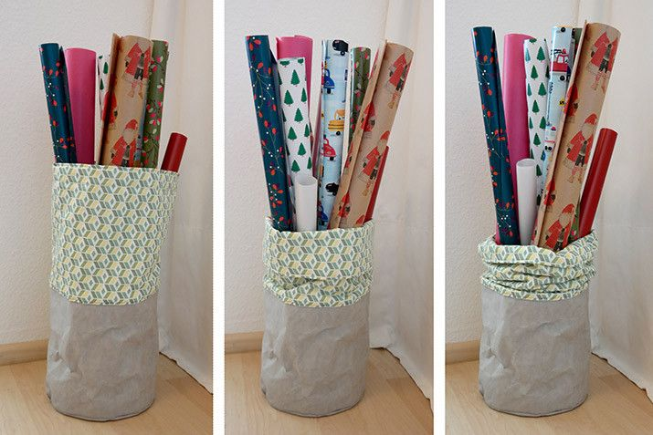 diy anleitung geschenkpapier aufbewahrung n hideen aufbewahrung geschenkpapier. Black Bedroom Furniture Sets. Home Design Ideas