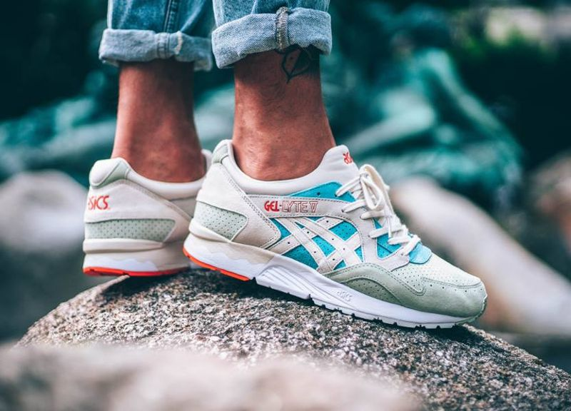 ASICS GEL LYTE V Pastels Pack REEF Waters/Birch Sneaker Scarpe Sportive
