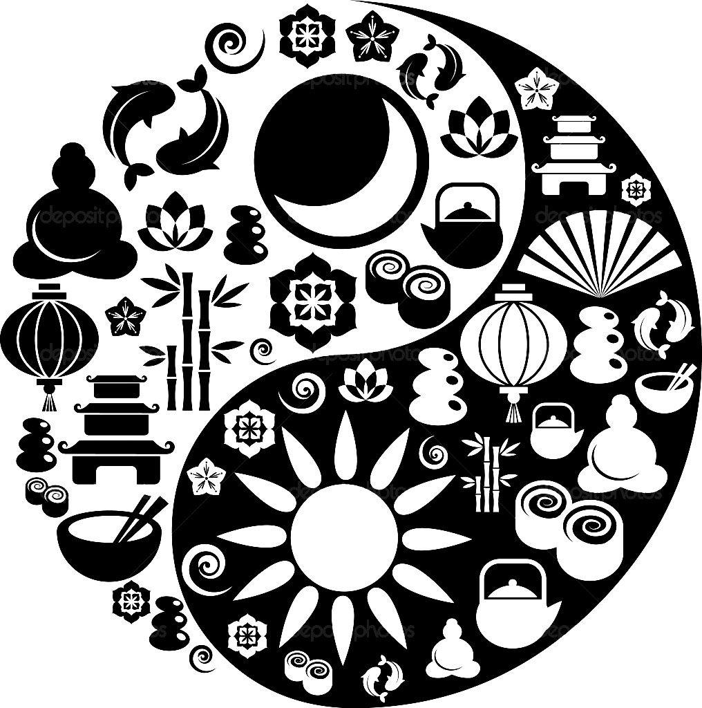 Pour Imprimer Ce Coloriage Gratuit «coloring Yin Yang Patterns