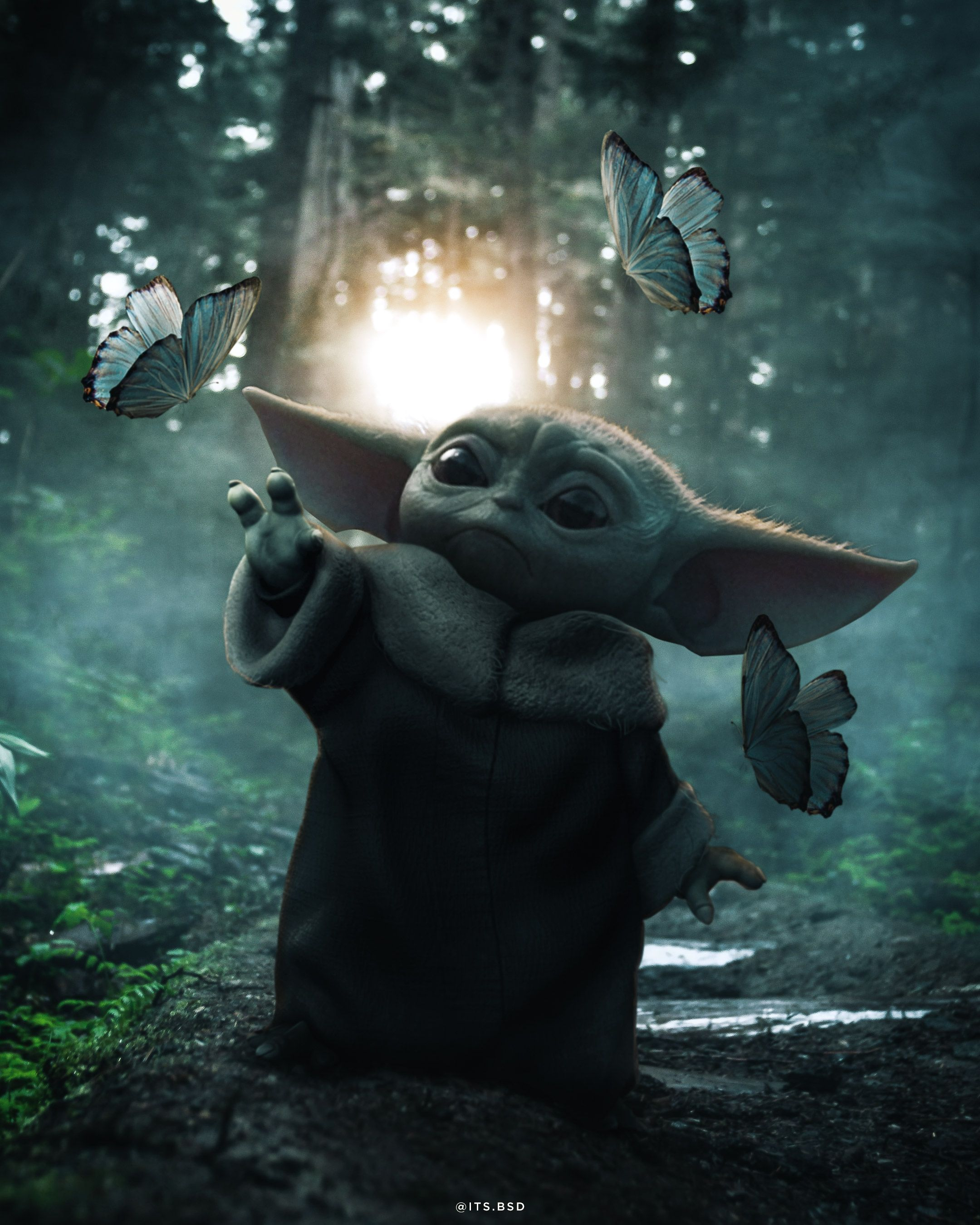 Best Image Of Baby Yoda Ive Found Yet Post From R Fanart In 2020 Yoda Pictures Yoda Wallpaper Yoda Images