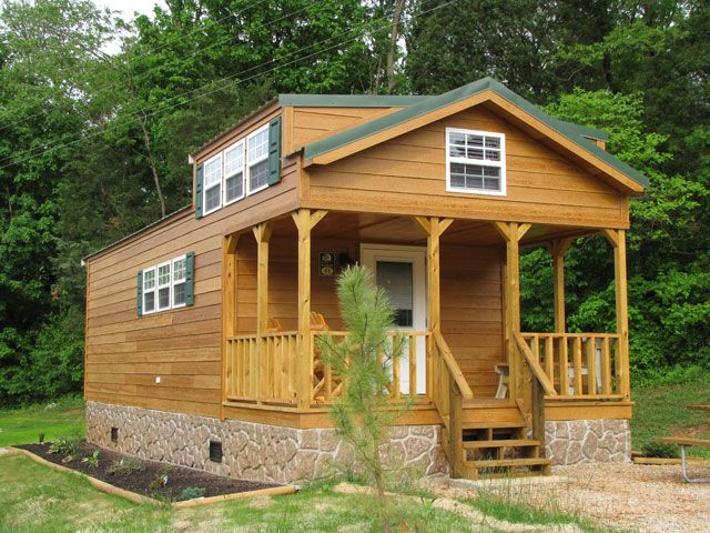 Cabins with screen porch plans jellystone park camp for Camping cabins plans