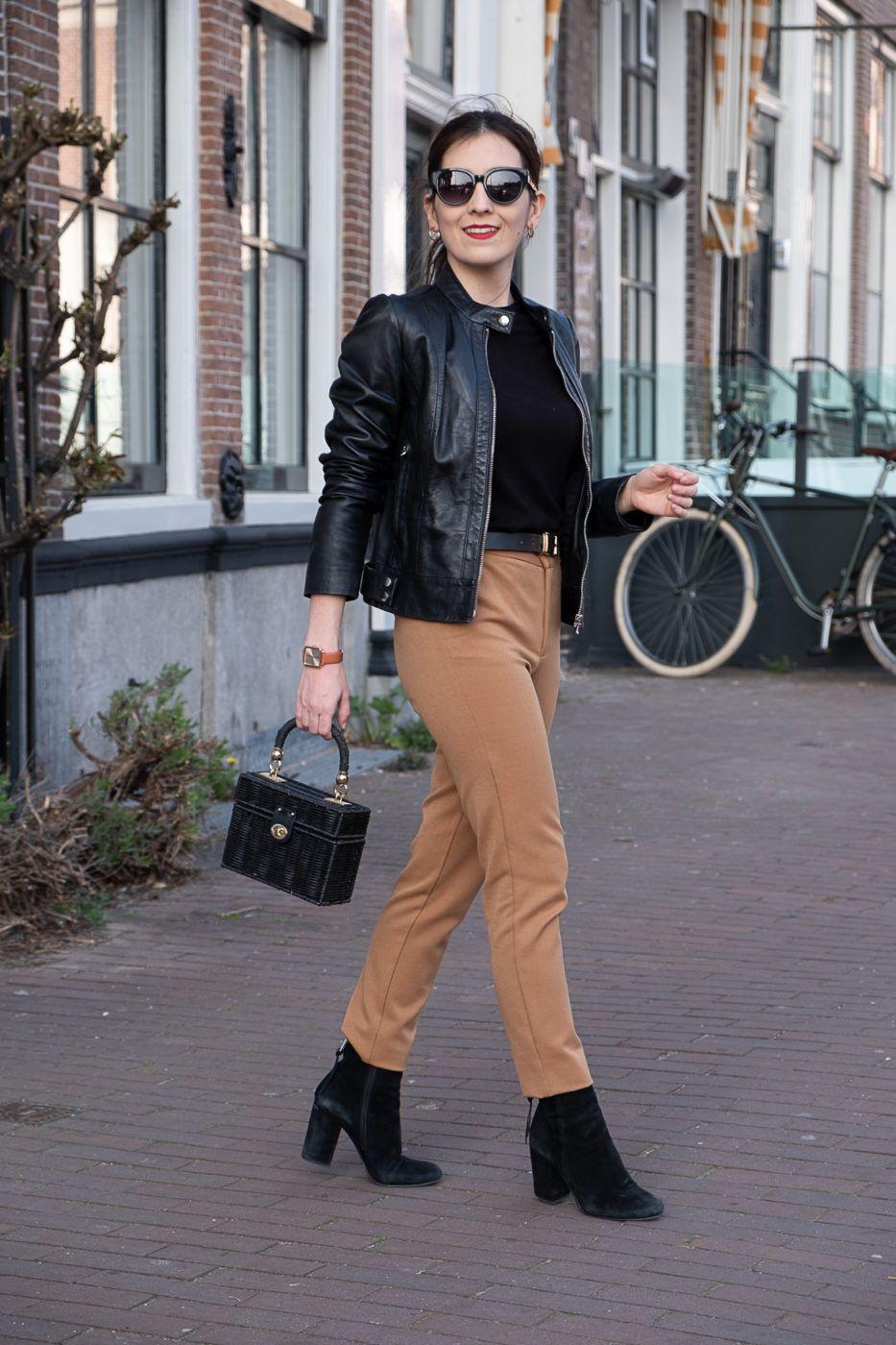 Zara Beige Pants Of My Dreams The Colourful Bouquet Beige Pants Winter Pants Outfit Pixie Pants Outfit