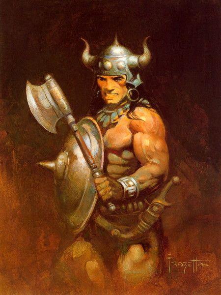 Conan The Barbarian- Frank Frazetta | Illustrated Artists ...