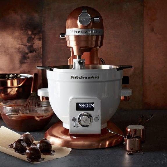 KitchenAid® Pro Line® Copper Stand Mixer, 7 Qt | Pinterest ... on copper keurig, copper disney, copper canisters at walmart, copper flatware,