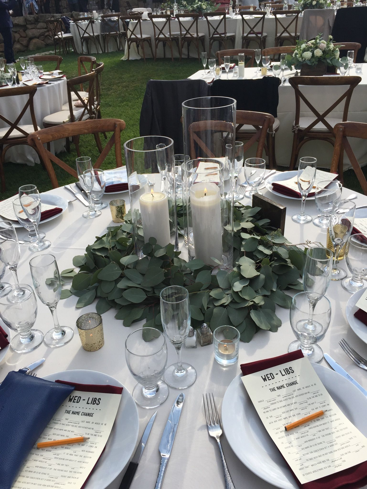 Round Table Centerpiece Round Table Decor Wedding Table Runners