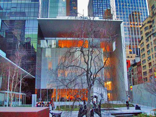 Exterior View Of Moma Museum Of Modern Art Museum Of Modern Art New York Museums Modern Art Sculpture