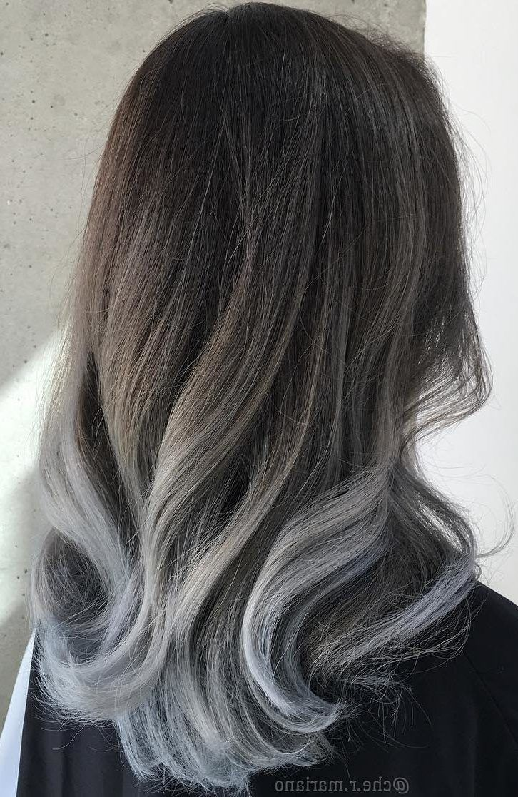 15 Gray Silver Ombre Hair Color Ideas for Attention Grabbing Gals ...
