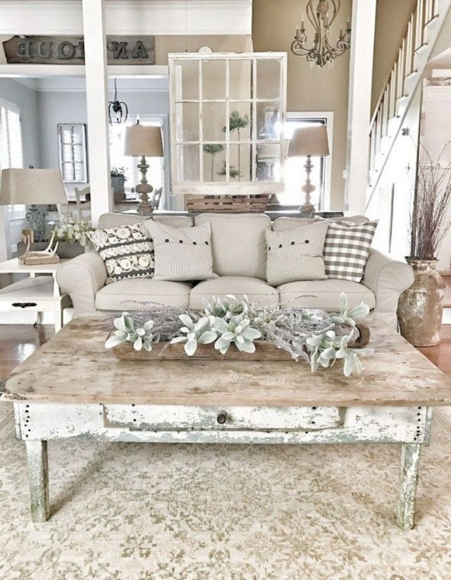 30 Perfect Farmhouse Living Room Design Ideas Farmhouse Decor Living Room Living Room Decor Rustic French Country Living Room