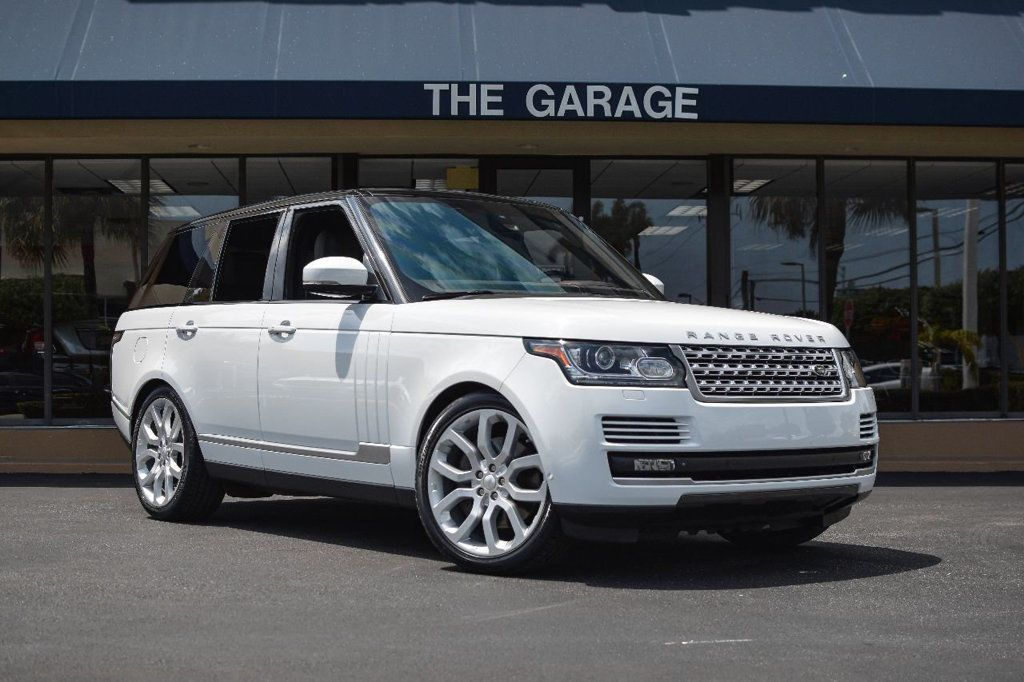 Awesome Amazing 2014 Land Rover Range Rover 4WD 4dr