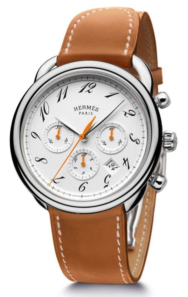 hermès arceau chronograph bridon watch wrist style hermès arceau chronograph bridon watch men s fashion stylesfashion ideas hermes