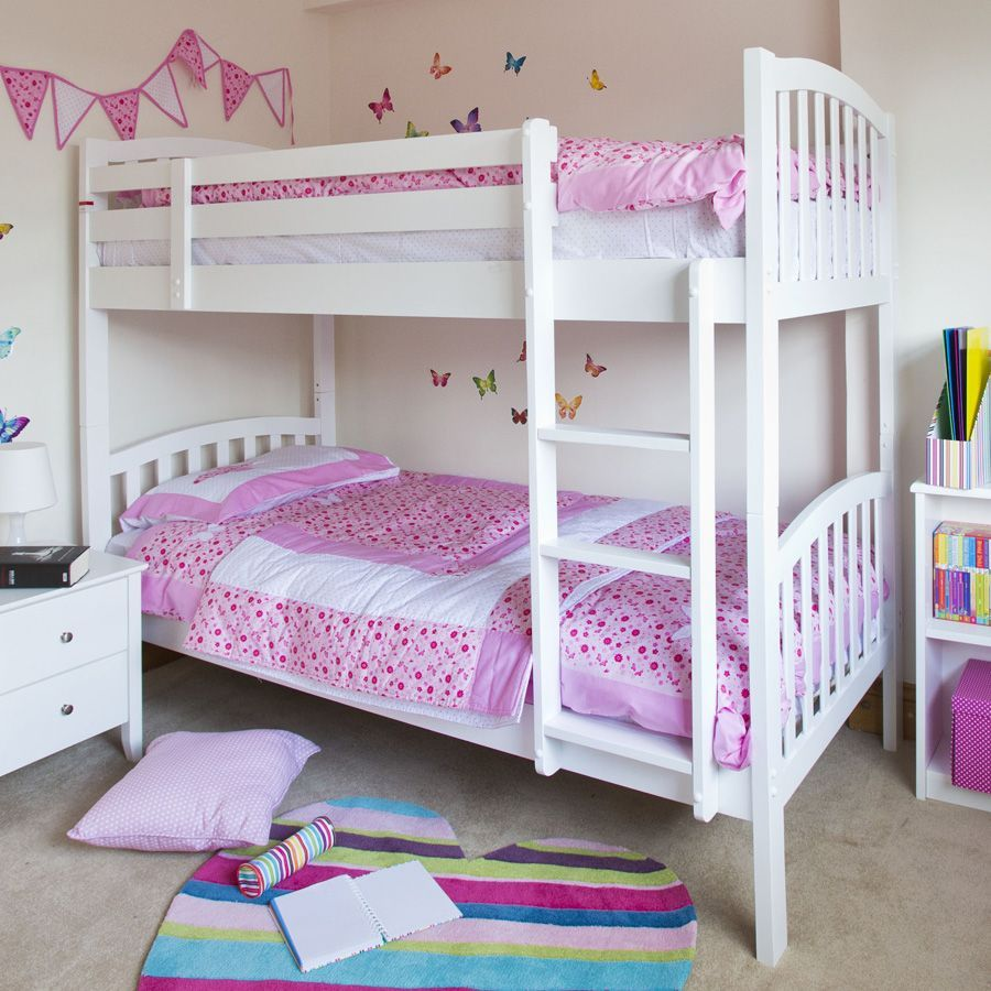 Best Lovely Small Bunk Bed Design Idea With Wall Decal 400 x 300