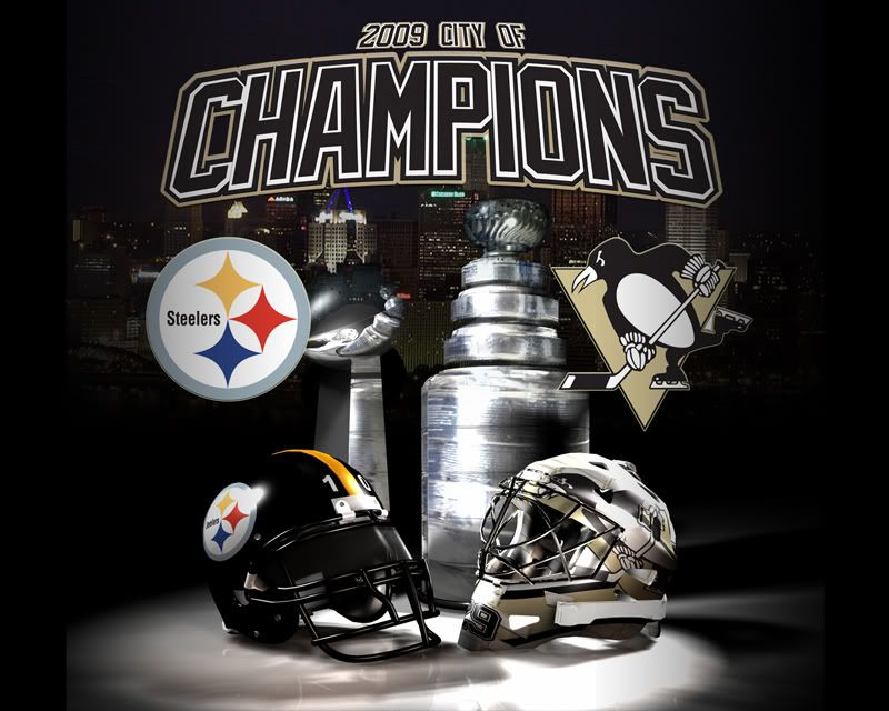 The Stanley Cup And Lombardi Trophy Come To Pittsburgh In 2009