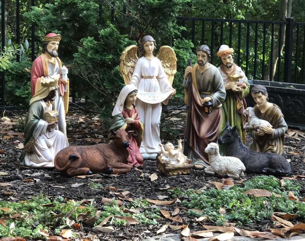 Christmas Crafts Foam Nativity Scene Makes 2-20 Pieces
