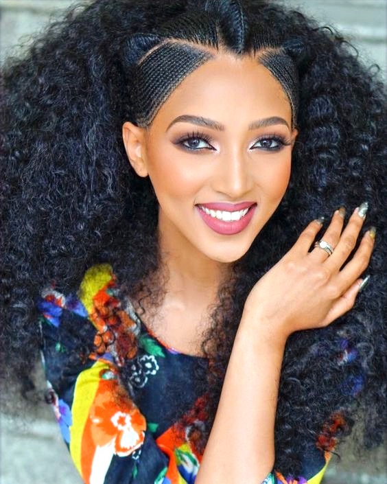 Ultimate Hair Guide How To Grow Natural Hair Long Fast With Ghee Ethiopian Hair Long Hair Styles Natural Hair Styles