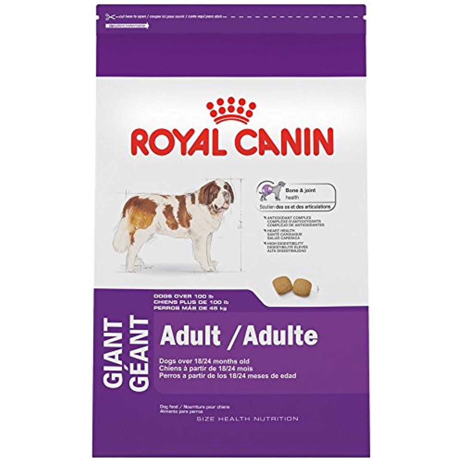 Royal Canin Size Health Nutrition Giant Adult Dry Dog Food 35 Pound You Can Check Out This Great Product This With Images Best Dog Food Dry Dog Food Dog Food Reviews