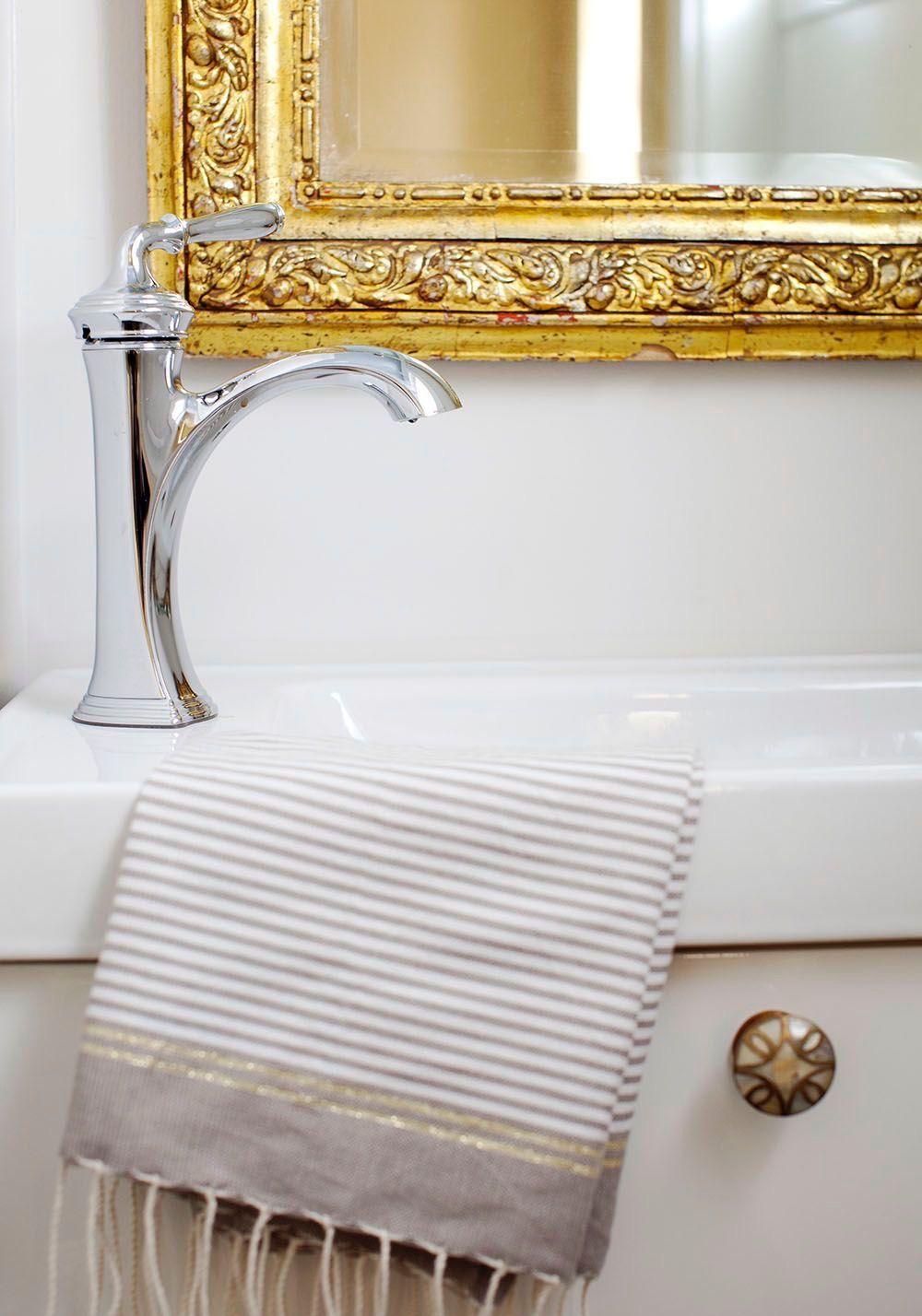 Pin By Jodi On Glamorous Hardware Cottage Bathroom Bathroom Inspiration Guest Bathroom