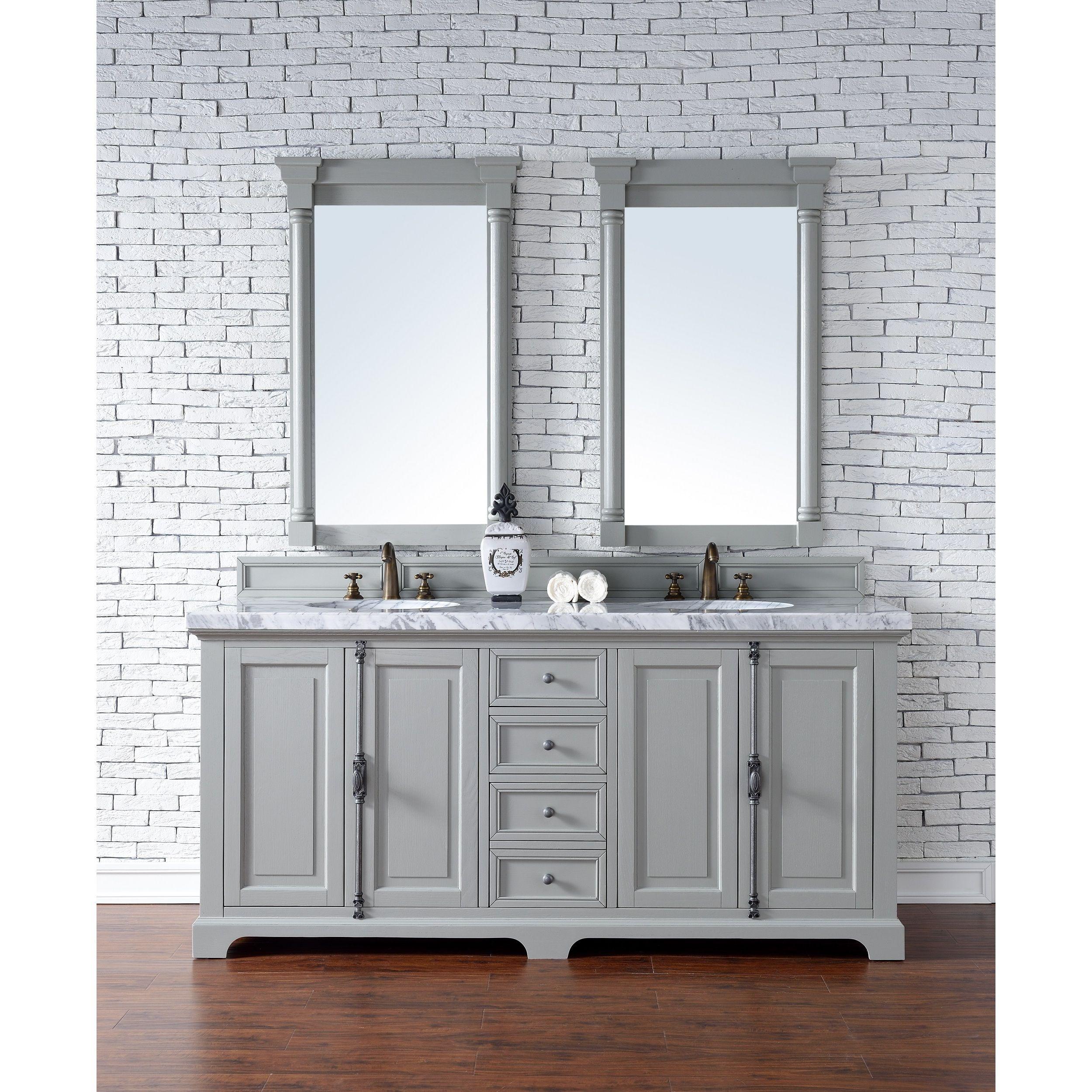 James Martin Furniture Providence Urban Grey 72-inch Double Vanity ...