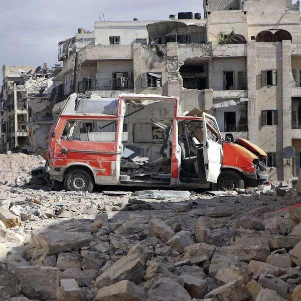 En medio de bombardeos MSF pide acceso al este de Alepo - Terra Argentina