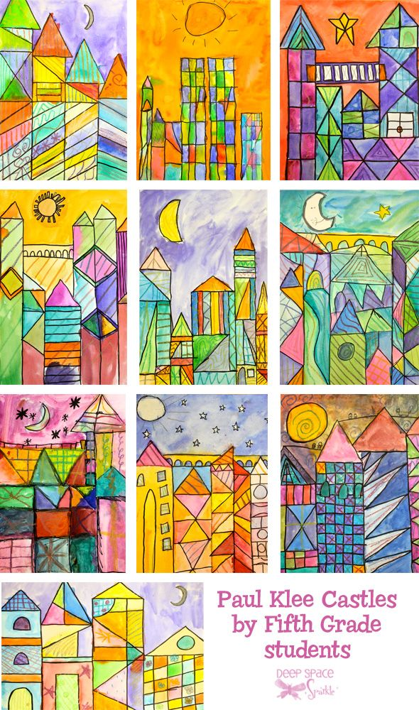 Paul Klee Art Lesson Art Lessons Elementary Paul Klee Art