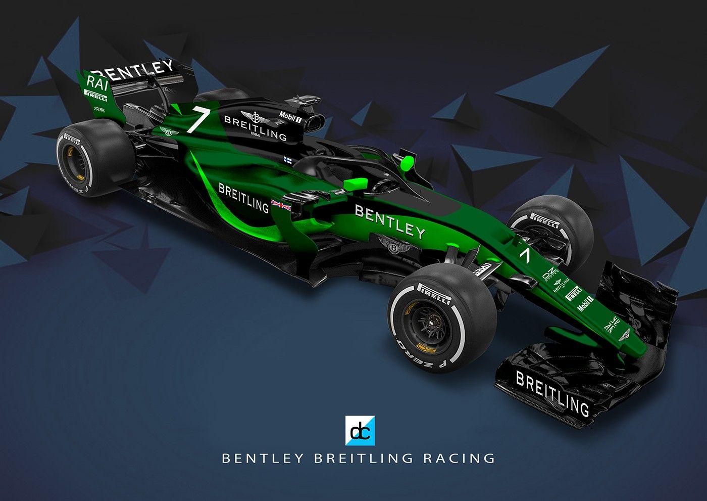 Bentley F1 Racing Team Concept Late Braking On Behance Formula