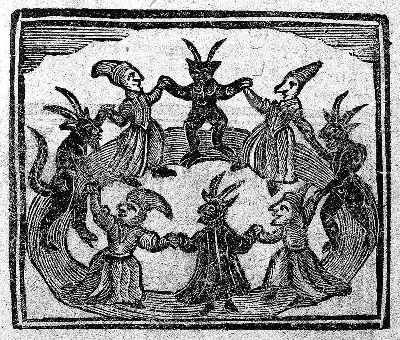 Woodcuts and Witches   Something Wicked This Way Comes