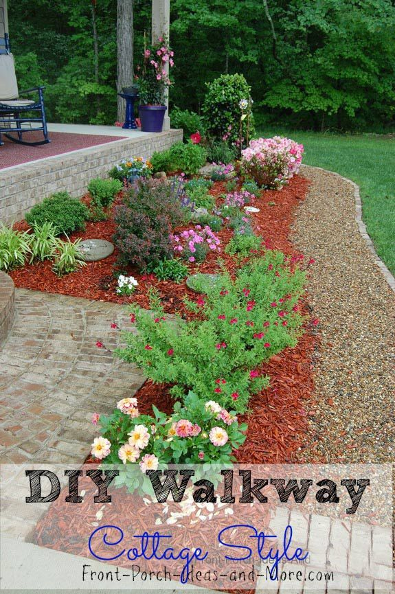 Garden Ideas.html. Diy Walkway Idea Pea Gravel For A Cottage Style Home  Best Of