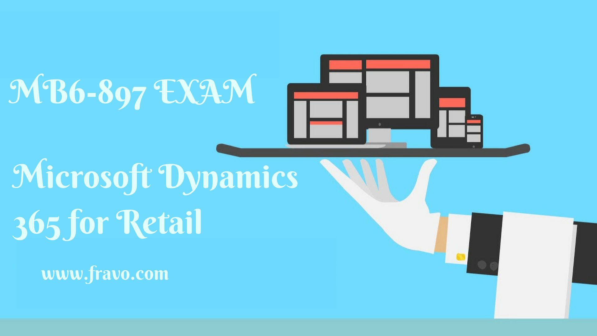 If you want to pass the Microsoft Dynamics 365 for Retail