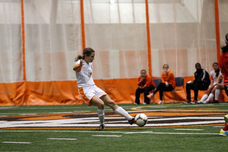 Women's soccer rebuilds, learns to win