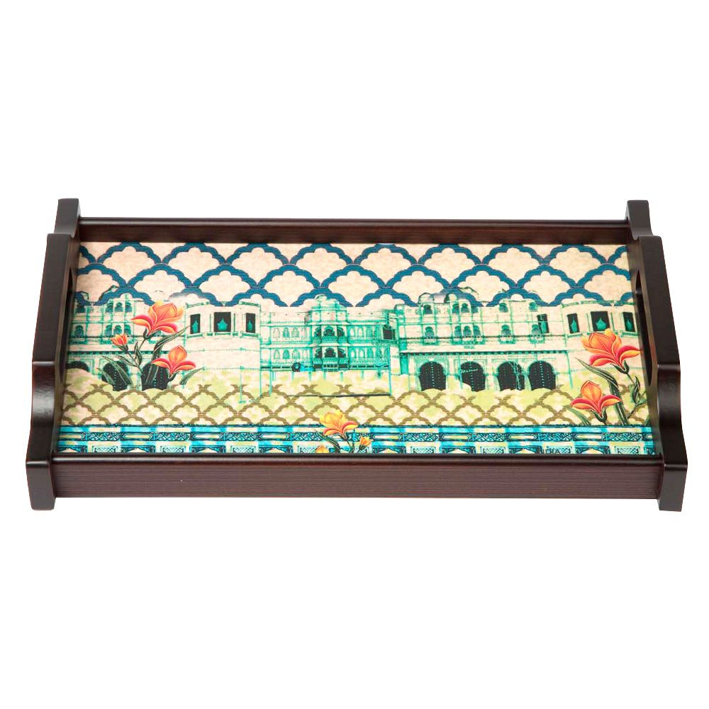 Neo Nawab Riverside Tray 25 x 40.6cm by India Circus on THEHOME.COM.AU